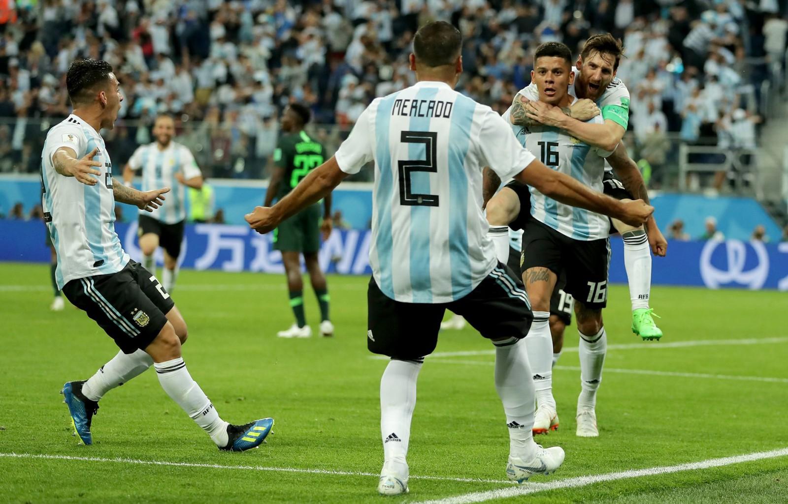 Naționala Argentinei s-a calificat dramatic în optimile Cupei Mondiale. Marcos Rojo a fost jucătorul decisiv pentru sud-americani în meciul cu Nigeria