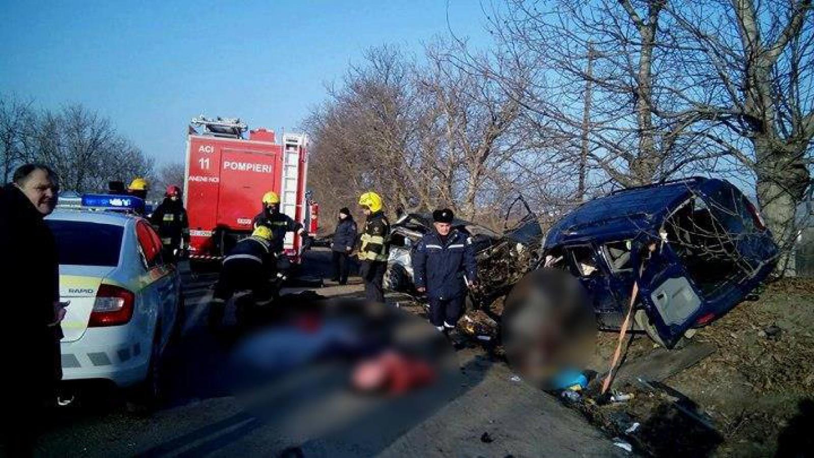 Noi detalii în cazul accidentului de la Anenii Noi: Cine sunt victimele carnagiului