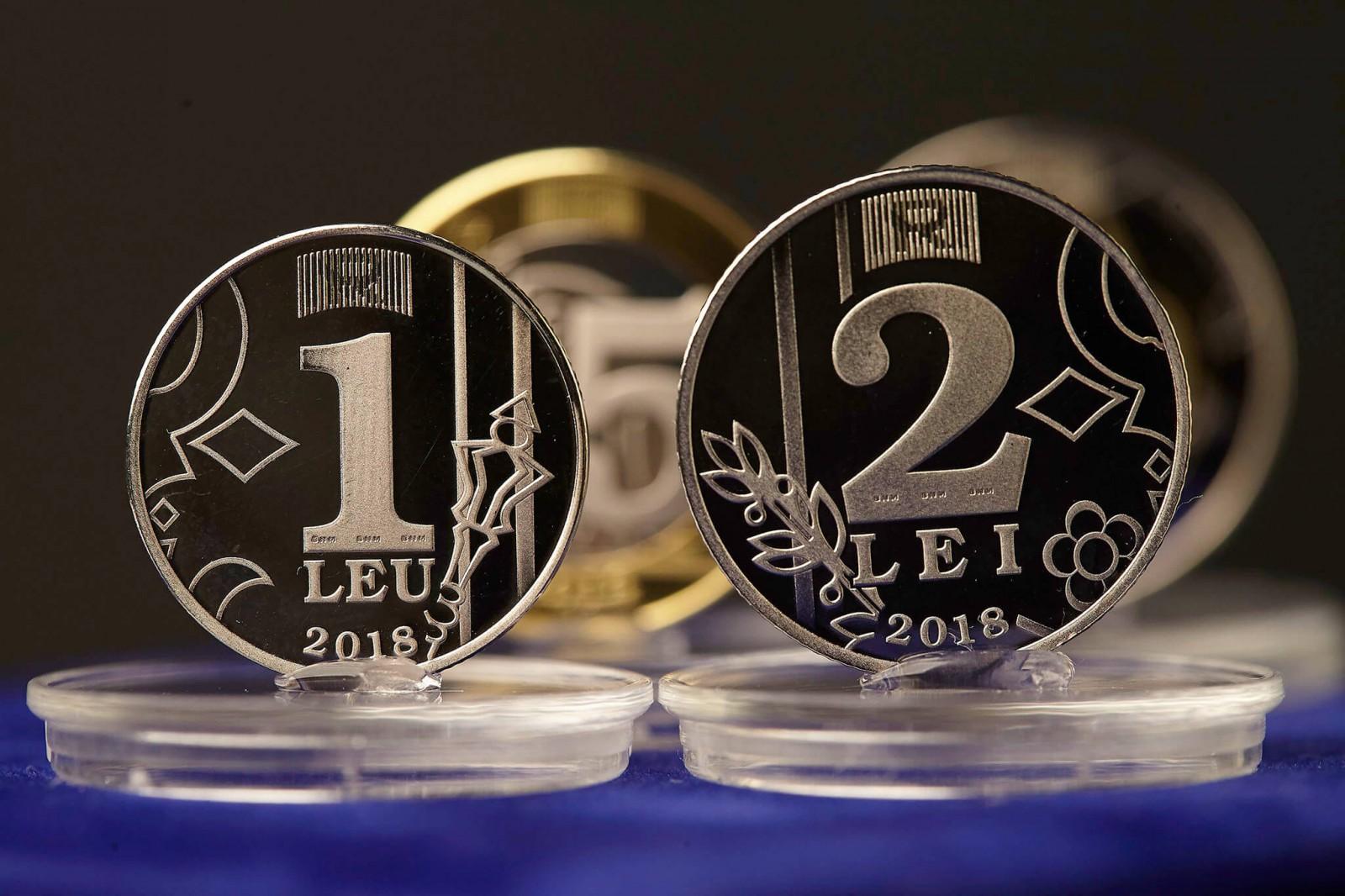Noile monede de 1 și 2 lei, puse în circulație de BNM de două săptămâni