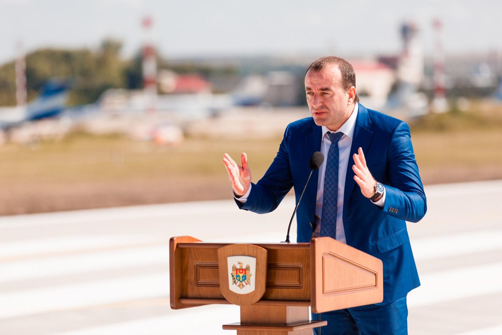 Noua pistă pe Aeroportul Chişinău, un proiect cheie realizat cu succes de Avia Invest