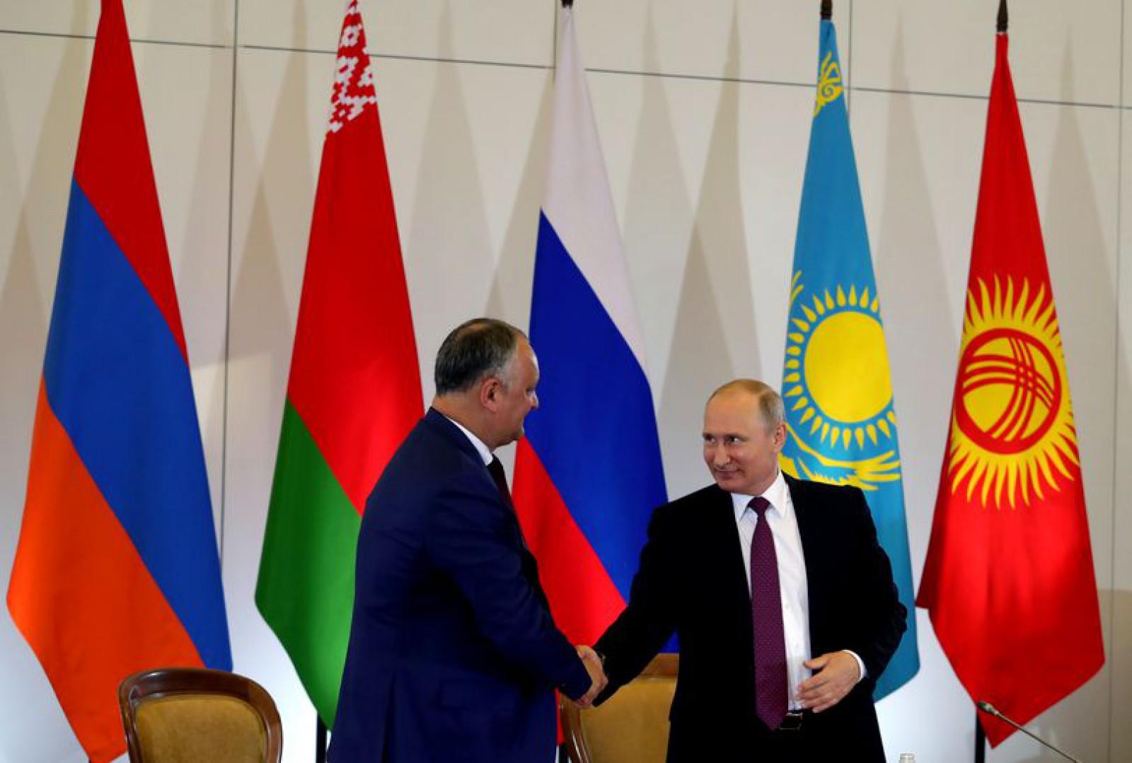 """Partidul Democrat susține că RM nu poate avea calitate de observator în Uniunea Euroasiatică: """"Oricare viziune a politicii externe nu poate expusă în lipsa unui aviz favorabil din partea Guvernului și Parlamentului"""""""