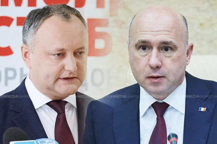 """Pavel Filip, către Igor Dodon: """"Să coboare cu picioarele pe pământ""""; Filip va înainta candidatura Eugen Sturza încă o dată"""