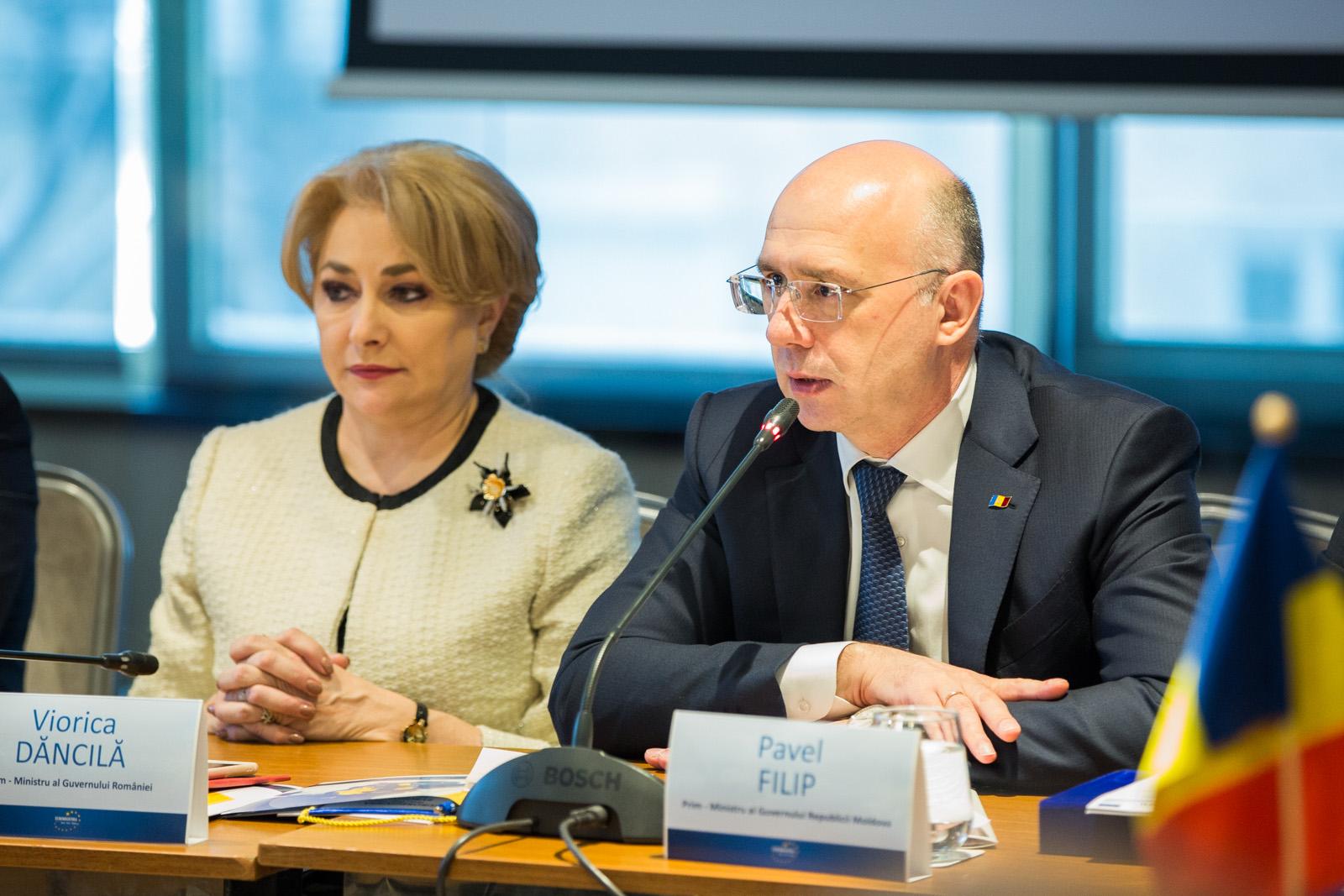 Pavel Filip cere implicarea Guvernului român în soluționarea aglomerației excesive la punctele de trecere a frontierei dintre Moldova și România