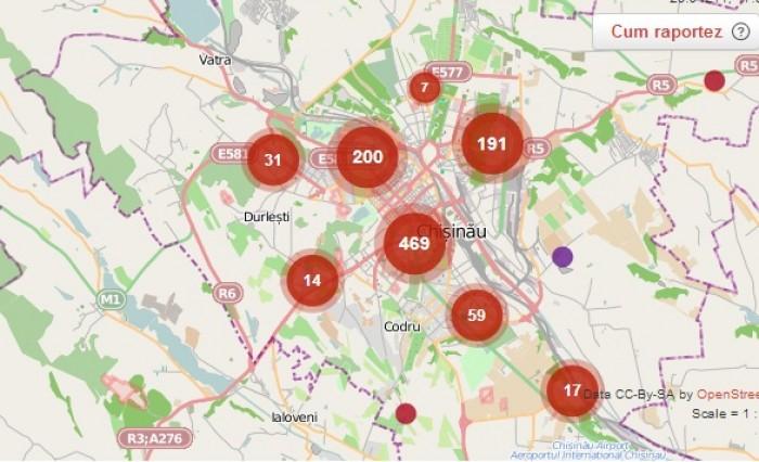 Chișinăuienii îndemnați să semnaleze problemele din oraș la Primărie