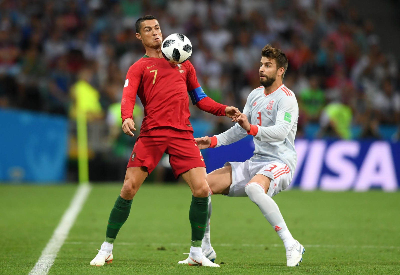 Portugalia 3-3 Spania: Cristiano Ronaldo a fost omul meciului, reușind primul hat-trick al actualei ediții a Campionatului Mondial