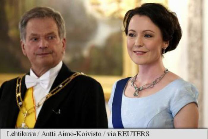 Președintele finlandez, în vârstă de 69 de ani, va deveni din nou tată