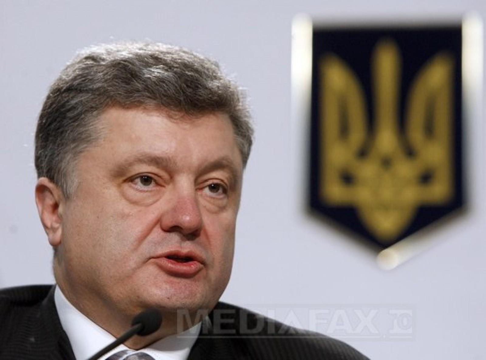 Preşedintele ucrainean a adoptat noi sancţiuni împotriva unor companii şi indivizi din Rusia
