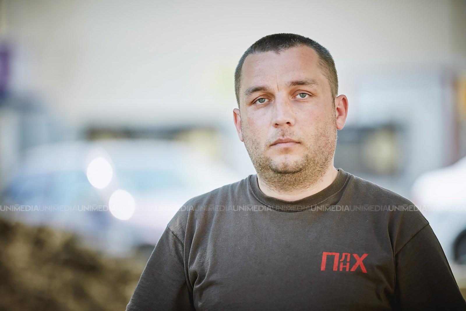 """Prima reacție a lui Alexandr Roșco: Sloganul """"Nici un vot pentru candidatul lui Plahotniuc"""" a fost auzit"""