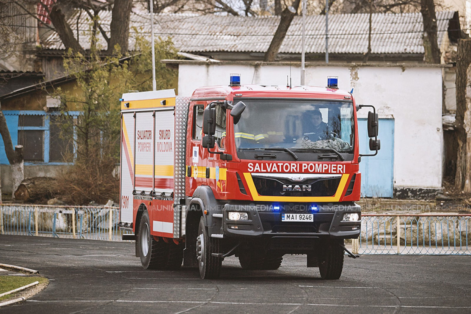 Primele ipoteze în cazul incendiului într-un local din capitală, unde mai multe persoane au fost evacuate