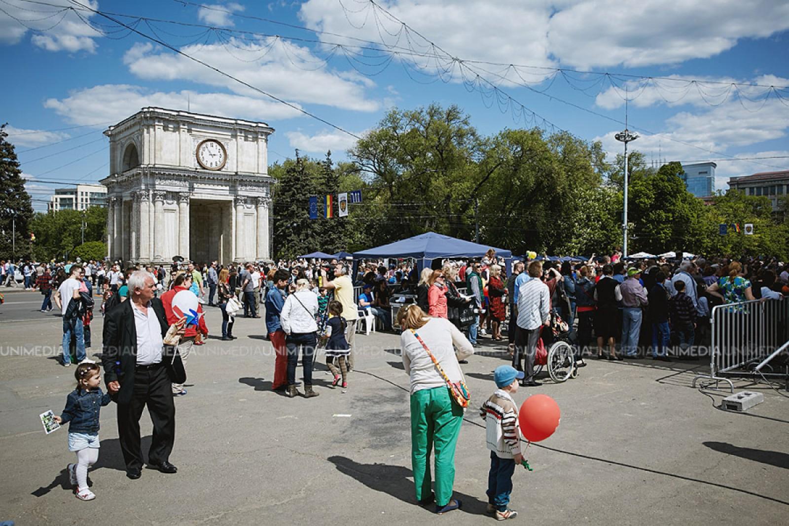 Programul zilei de 9 mai la Chișinău. Cum va fi marcată Ziua Europei și Ziua Victoriei