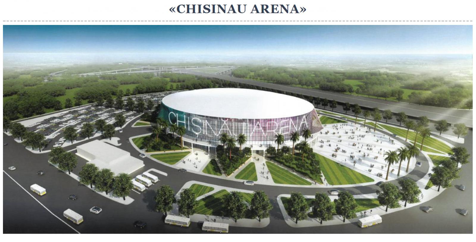 """Proiectul PDM """"Arena Chișinău"""" în interesul unei singure companii de a investi. Numele pretendentului nu s-a făcut public"""