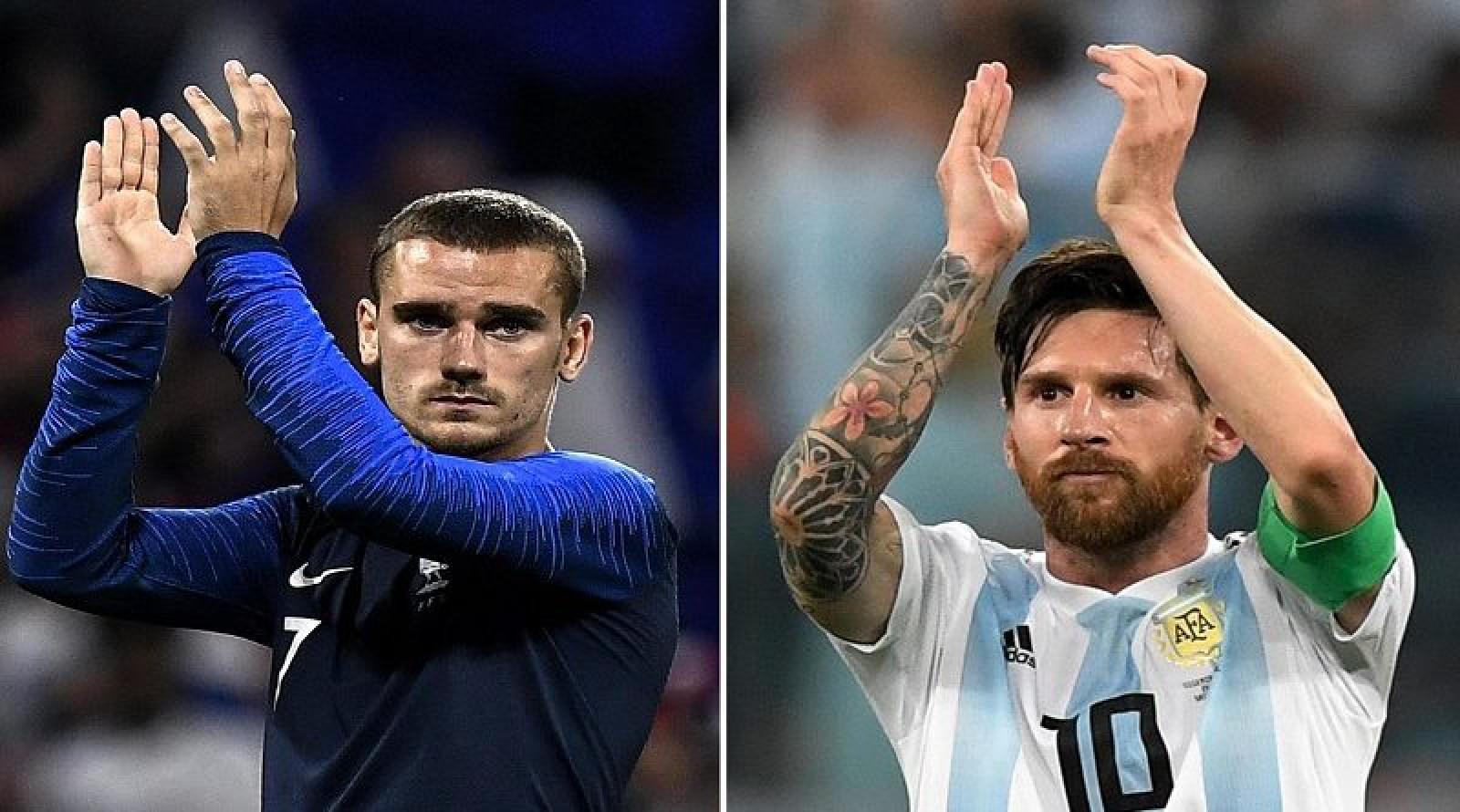 Pronostic la cota 2.40 la Franta - Argentina:primul meci din optimile Cupei Mondiale