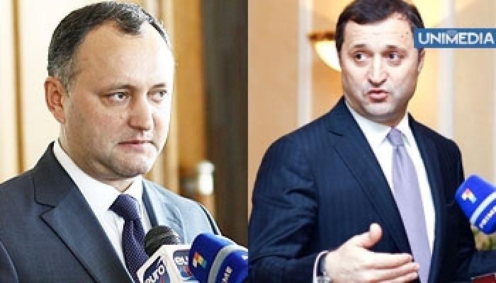 """Răspunsul lui Filat pentru Dodon: Eu fac diferență între speculații politice și """"grijă"""" față de țară"""