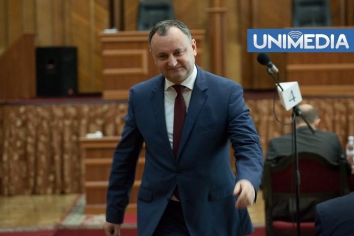 Replica lui Dodon privind colajele cu declarațiile referitoare la Uniunea Vamală