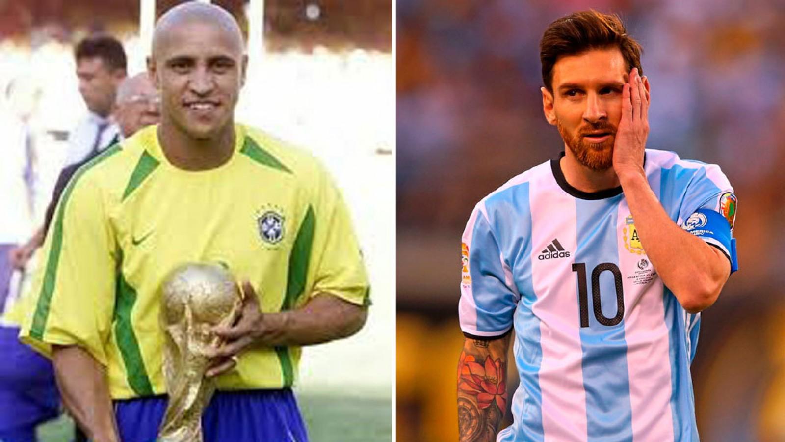 Roberto Carlos: Dacă Messi ar fi fost brazilian, era deja campion mondial
