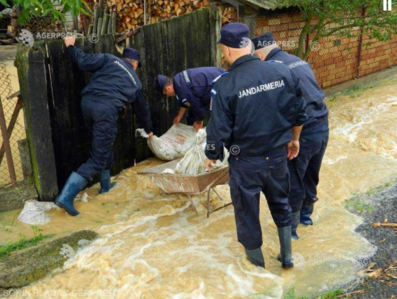 România: 38 de localități din 14 județe, afectate de inundații
