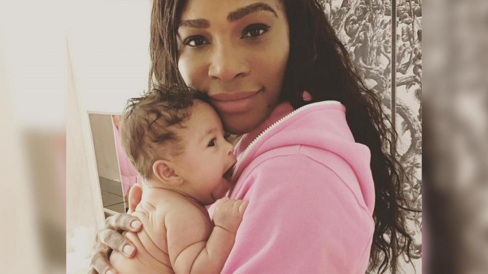 Serena Williams a fost la un pas de moarte la naşterea fiicei sale. A suferit două operații