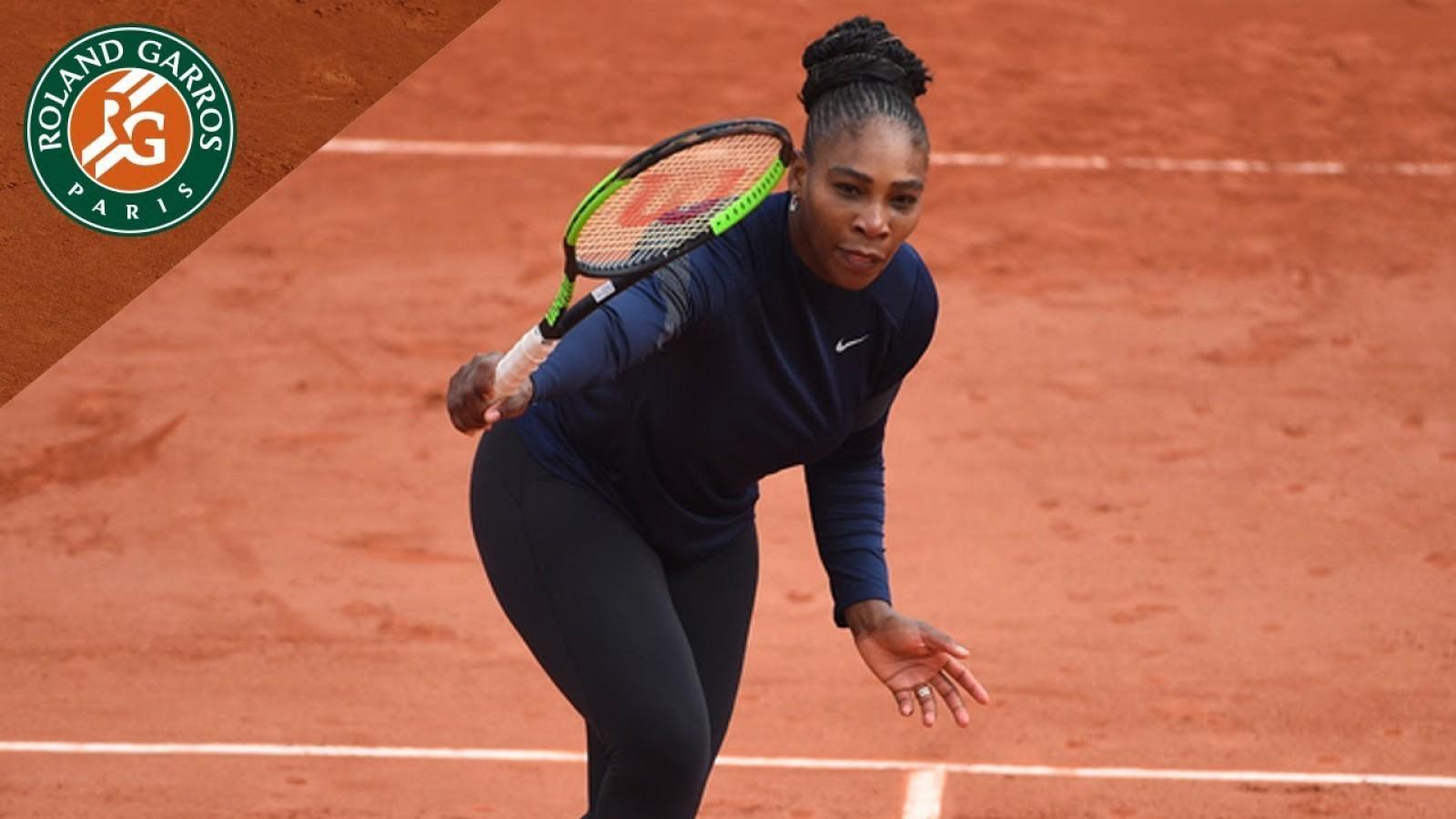 Serena Williams s-a retras de la Roland Garros, înainte de meciul cu Maria Sharapova