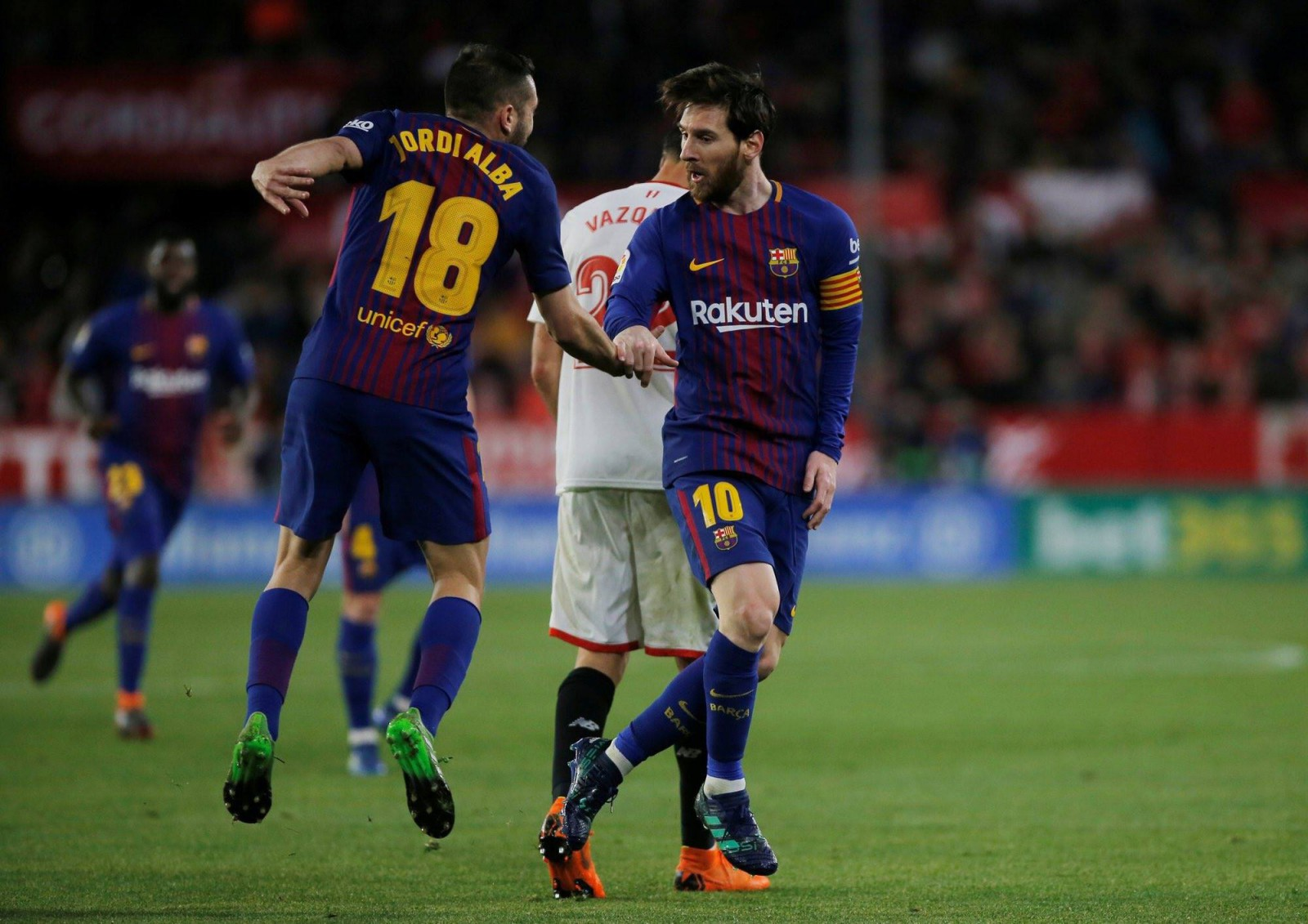 Sevilla 2-2 Barcelona: Final nebun de meci pe stadionul Ramon Sanchez Pizjuan