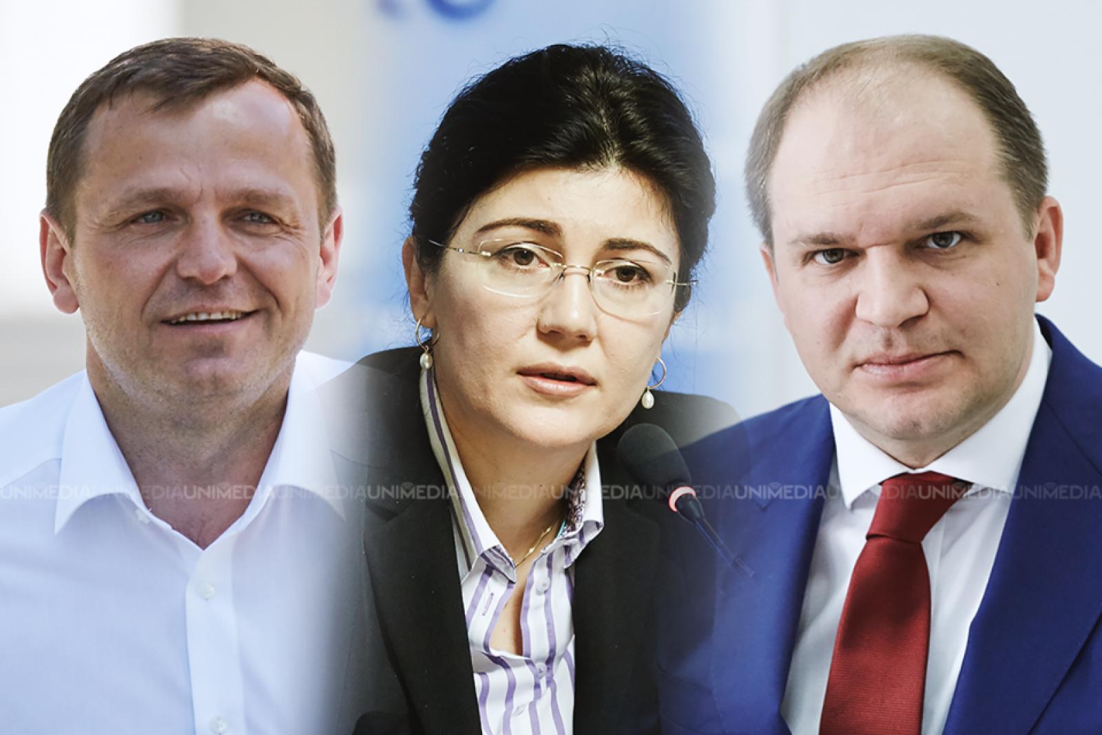 (sondaj) Alegerile locale din Chișinău: Lupta pentru turul II se va da între Ion Ceban, Silvia Radu și Andrei Năstase
