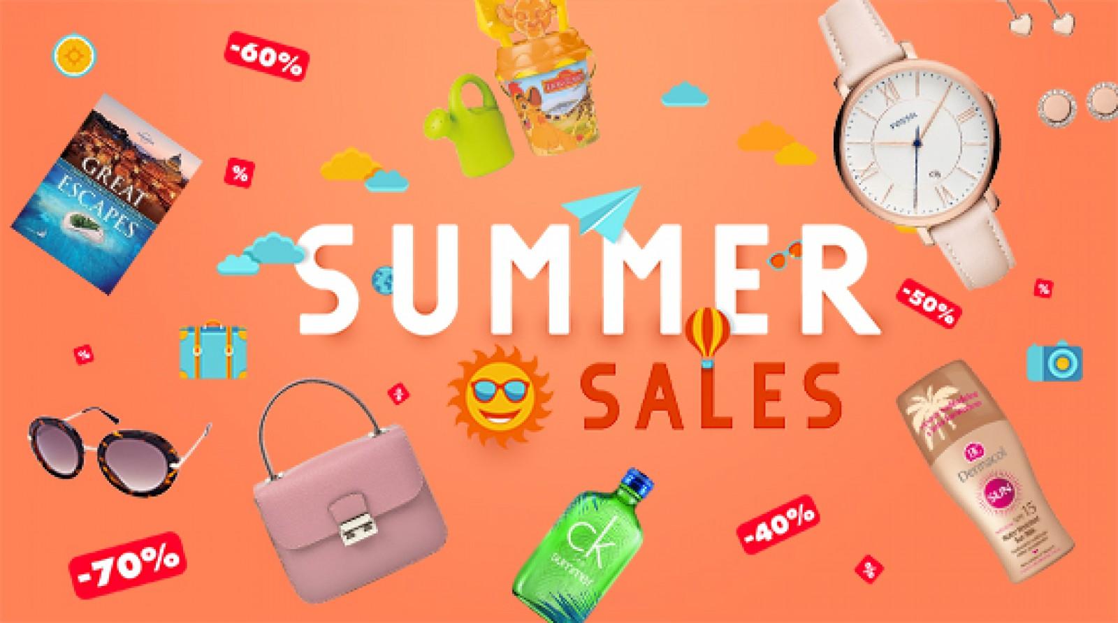 Start Summer Sales la elefant.md - reduceri de până la 80%