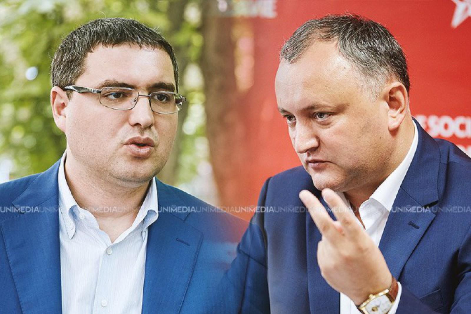 """(stop cadru) Mesajul lui Renato Usatîi adresat socialiștilor: Nu cum băieței, cum """"obstanovka""""?"""