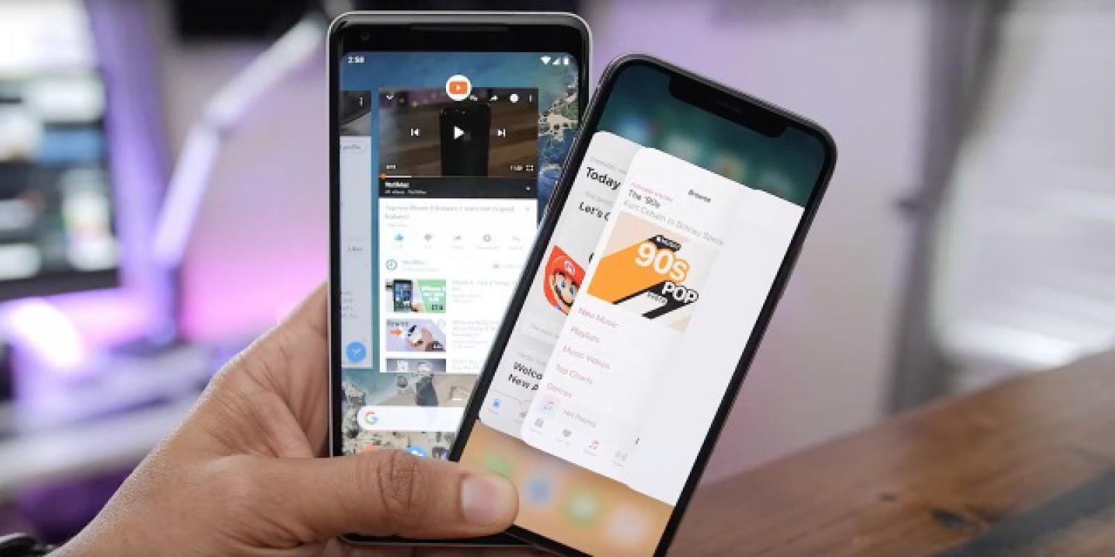 """Studiu: 15-20% dintre cumpărătorii de telefoane iPhone sunt """"dezertori"""" din tabăra Android"""