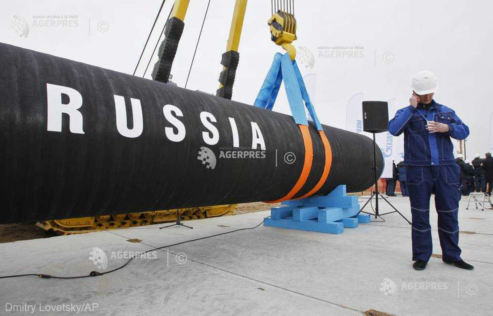 SUA amenință cu sancțiuni firmele care lucrează la proiectul conductei Nord Stream2