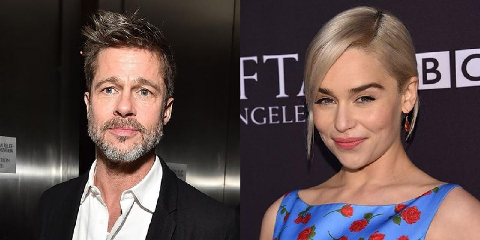 Suma fabuloasă oferită de Brad Pitt pentru a urmări un episod din Game of Thrones alături de protagonista serialului, Emilia Clarke