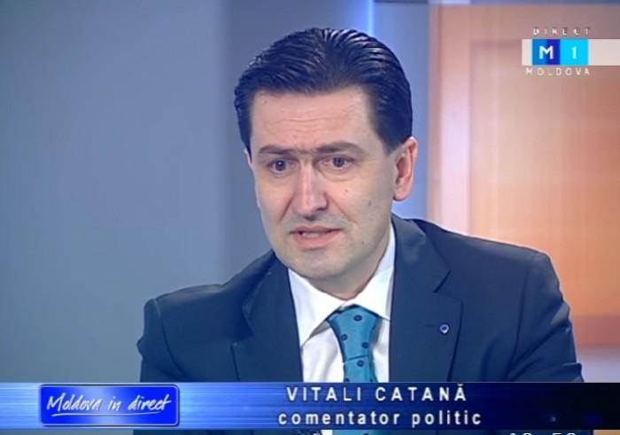 PLR se gândește să-l propună pe analistul Vitalie Catană în funcția de ministru al Apărării