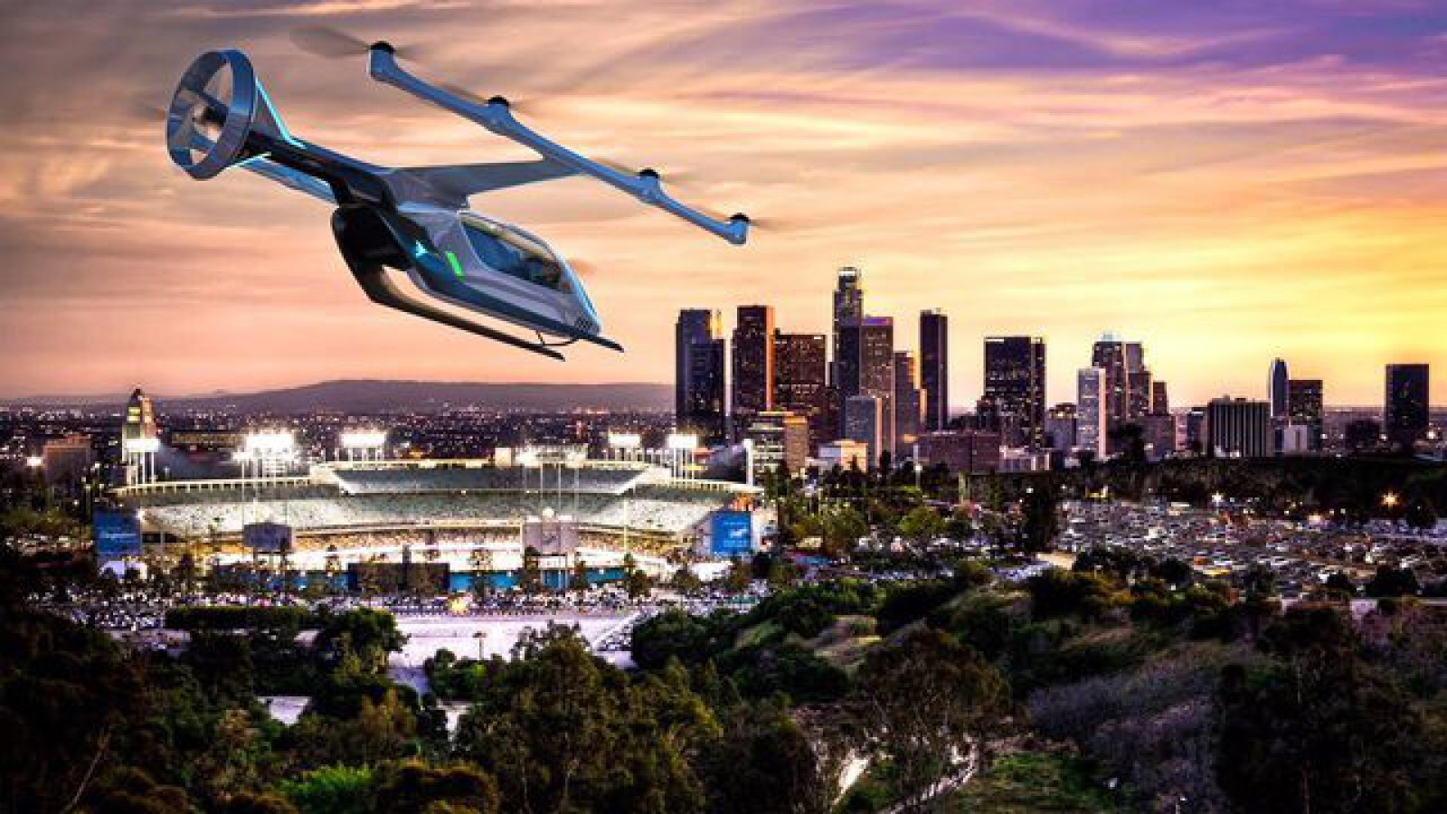 """Uber promite lansarea unui serviciu """"flying taxi"""" şi dezvăluie prototipul unui vehicul de zbor cu propulsie electrică"""