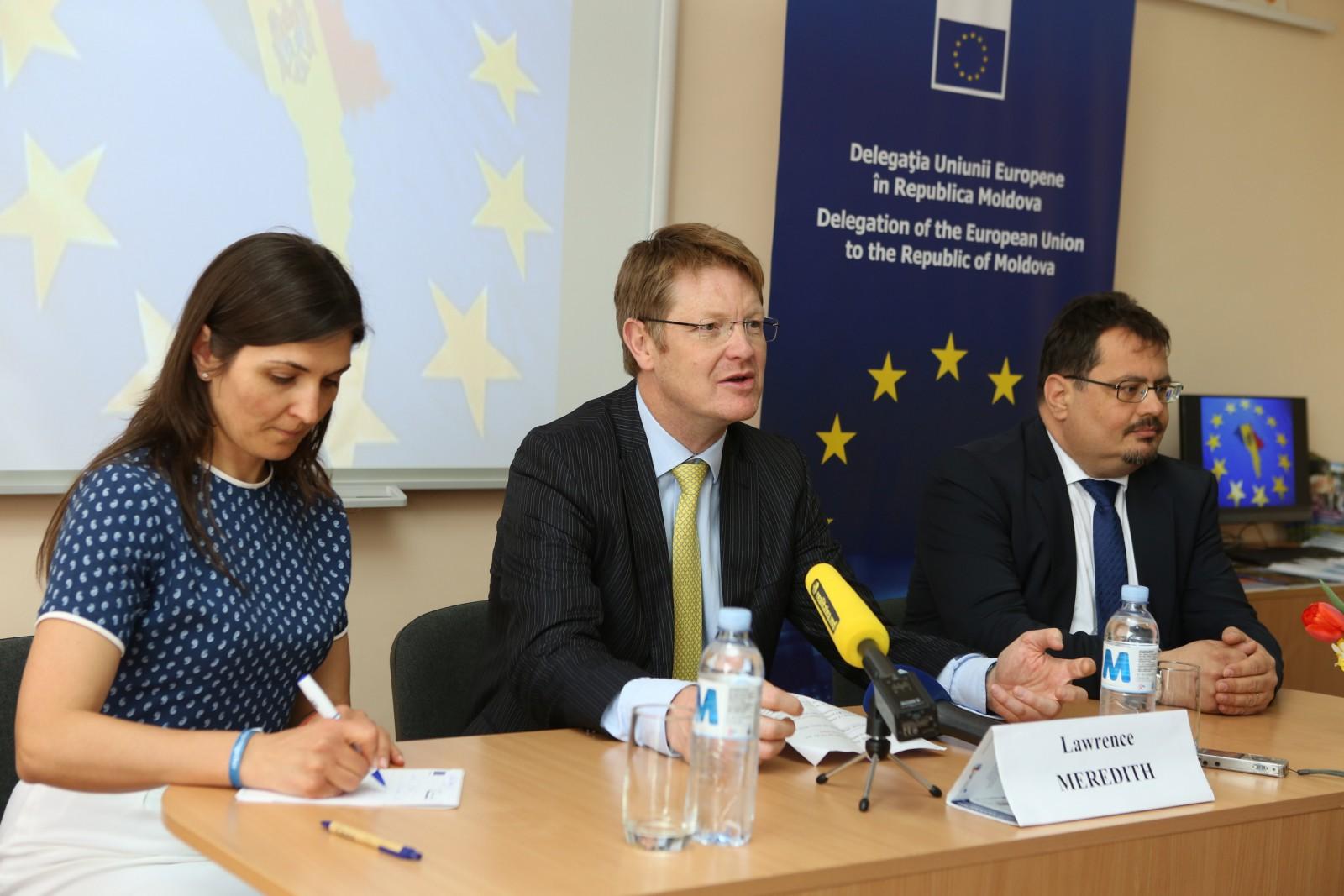 UE intenționează să-și consolideze sprijinul pentru regiunile Cahul și Ungheni