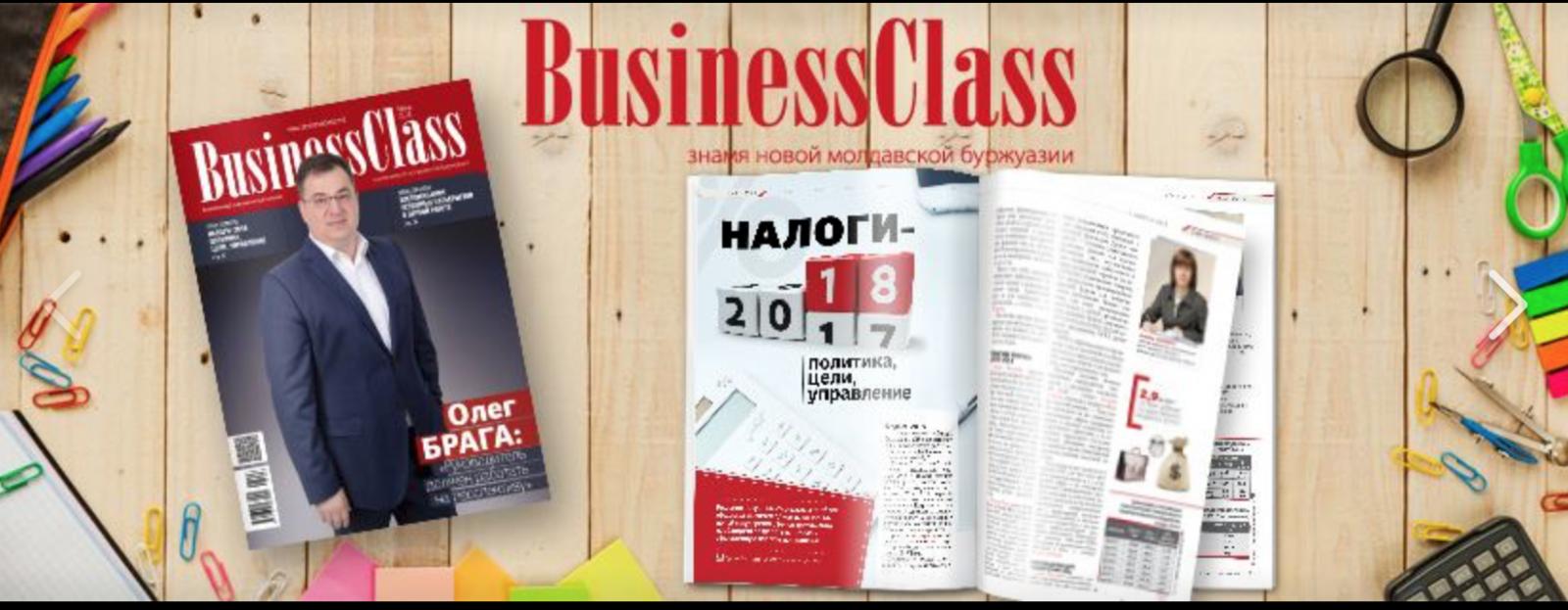 Ultima revistă Business Class este în vânzare acum!