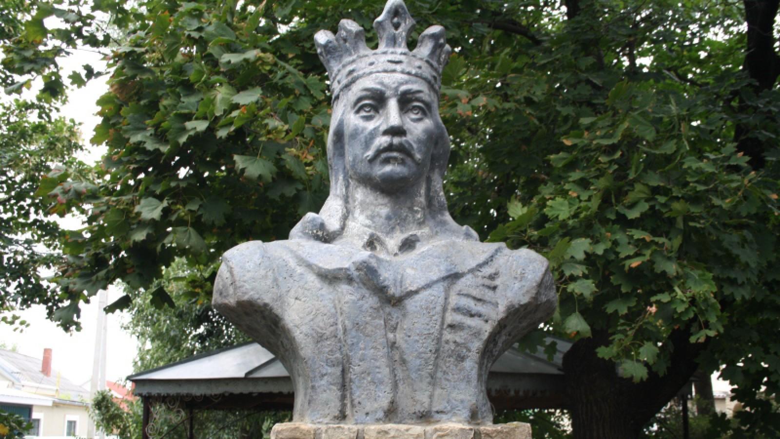 """Un bust al lui Ștefan cel Mare ar putea apărea la Chișinău, drept """"simbol al bărbăției"""""""