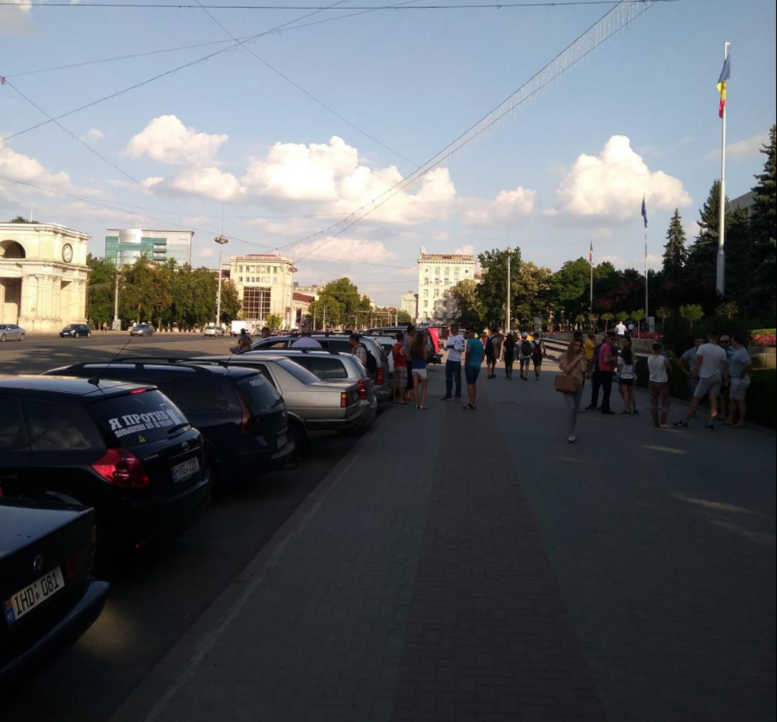 Un nou protest al șoferilor în PMAN, după ce ANRE a anunțat noi scumpiri ale carburanților