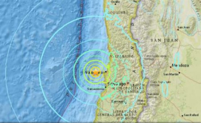 Un seism cu magnitudinea 6,9 s-a produs în Chile