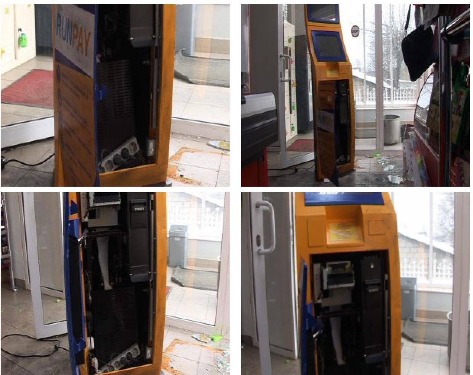 Un terminal de plăți dintr-un magazin din Nisporeni a fost golit azi noapte