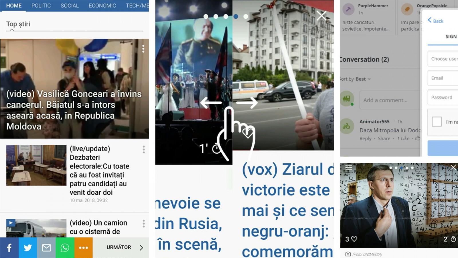 UNIMEDIA lansează noua versiune de mobil! Este cea mai rapidă și performantă de pe piața media din Moldova