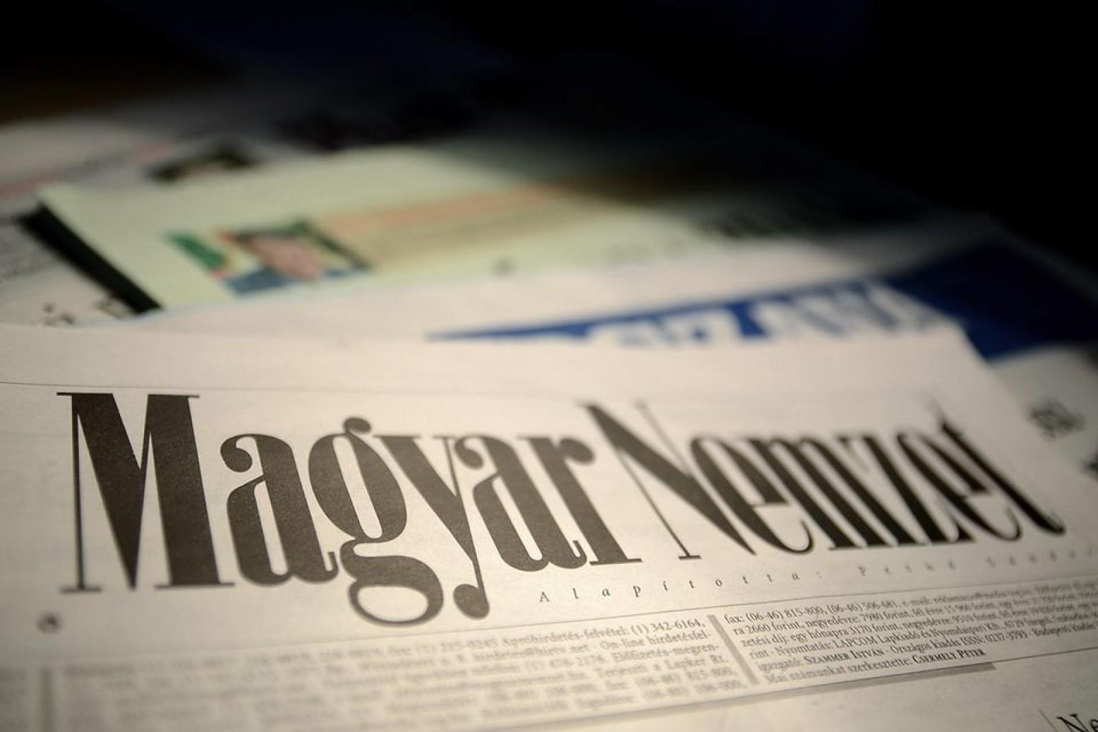 Unul dintre cele două ziare de opoziţie din Ungaria îşi încetează apariţia, după victoria lui Orban