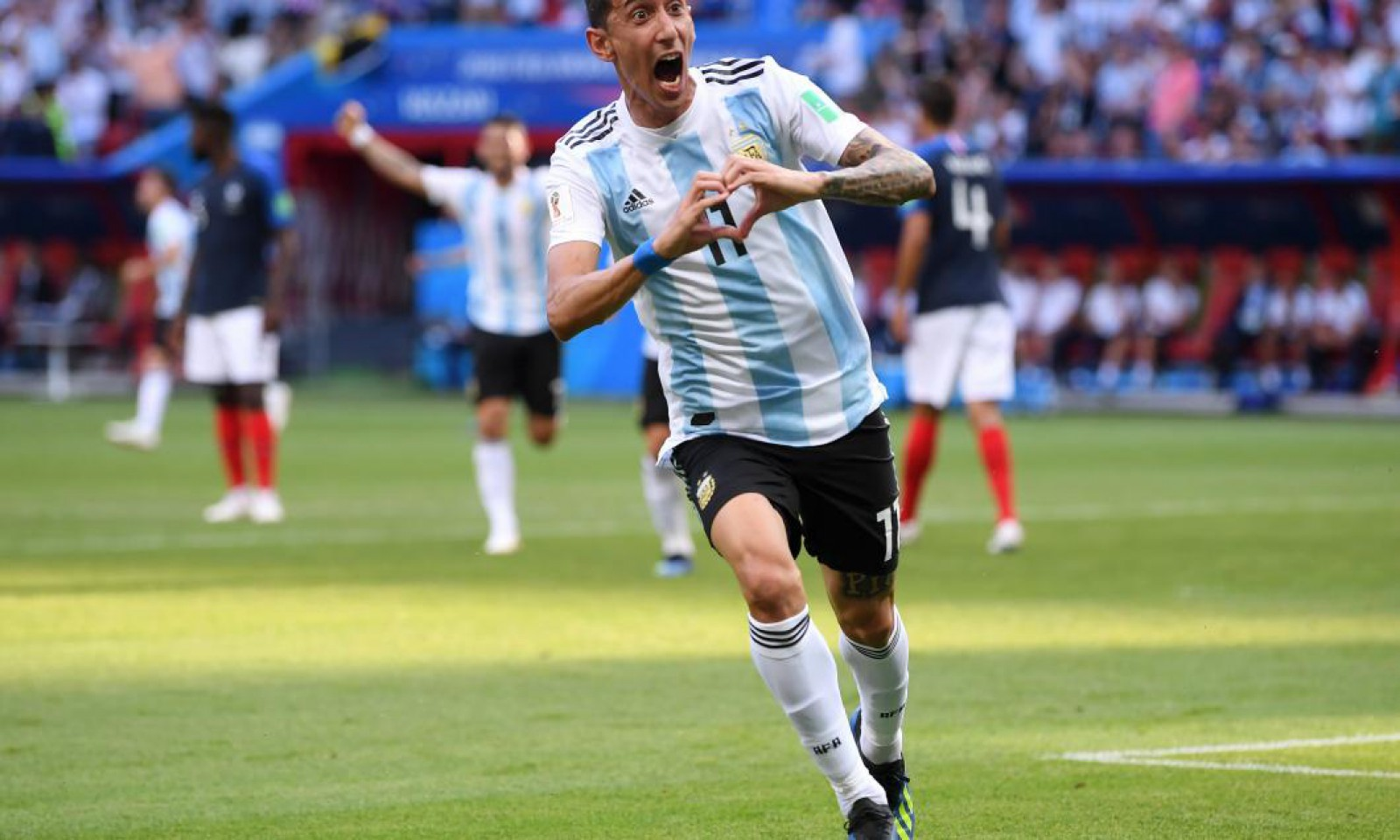 (update) Franța - Argentina 4-3. Francezii se califică în sferturi după un meci senzațional