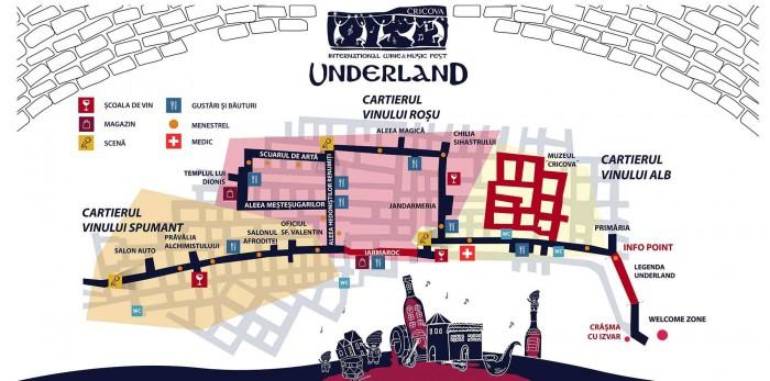 Artiști din 8 țări, într-un program de 12 ore. Vezi ce te așteaptă la Underland Wine and Music Festival