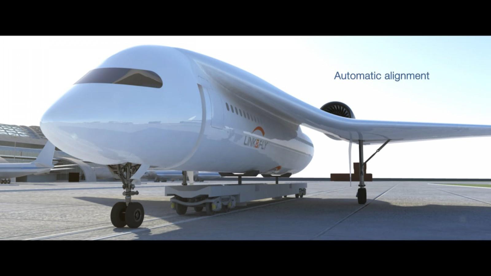 (video) A fost prezentat conceptul unui tren zburător, care ar permite pasagerilor să se îmbarcheze în avion în stațiile din oraș