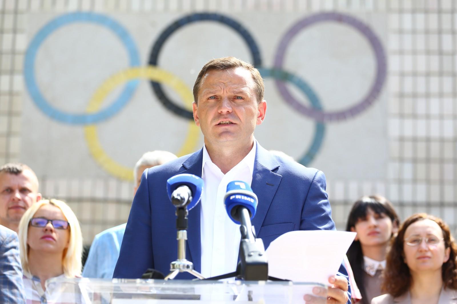 (video) Andrei Năstase și-a prezentat programul pentru dezvoltarea sportului în municipalitate