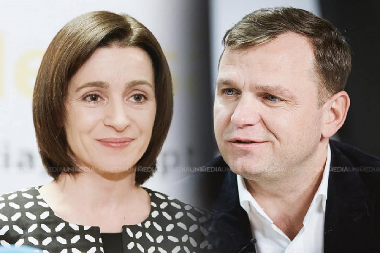 """(video) Andrei Năstase și Maia Sandu îndeamnă chișinăuienii să iasă la vot: """"Avem o șansă uriașă să demontăm acest sistem putred de corupt"""""""