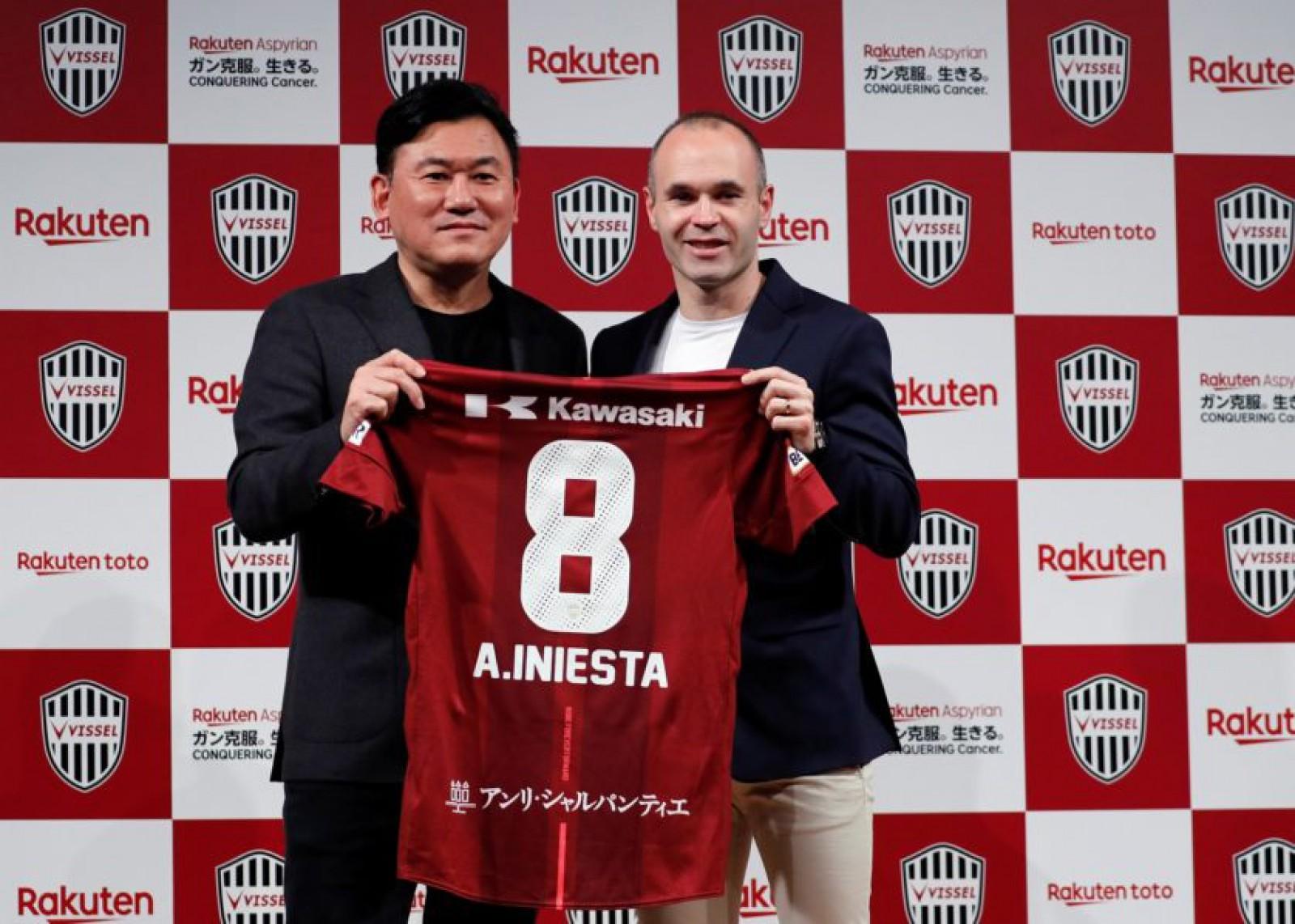 (video) Andres Iniesta își va continua cariera în Japonia! Mijlocașul spaniol a semnat cu trupa Vissel Kobe