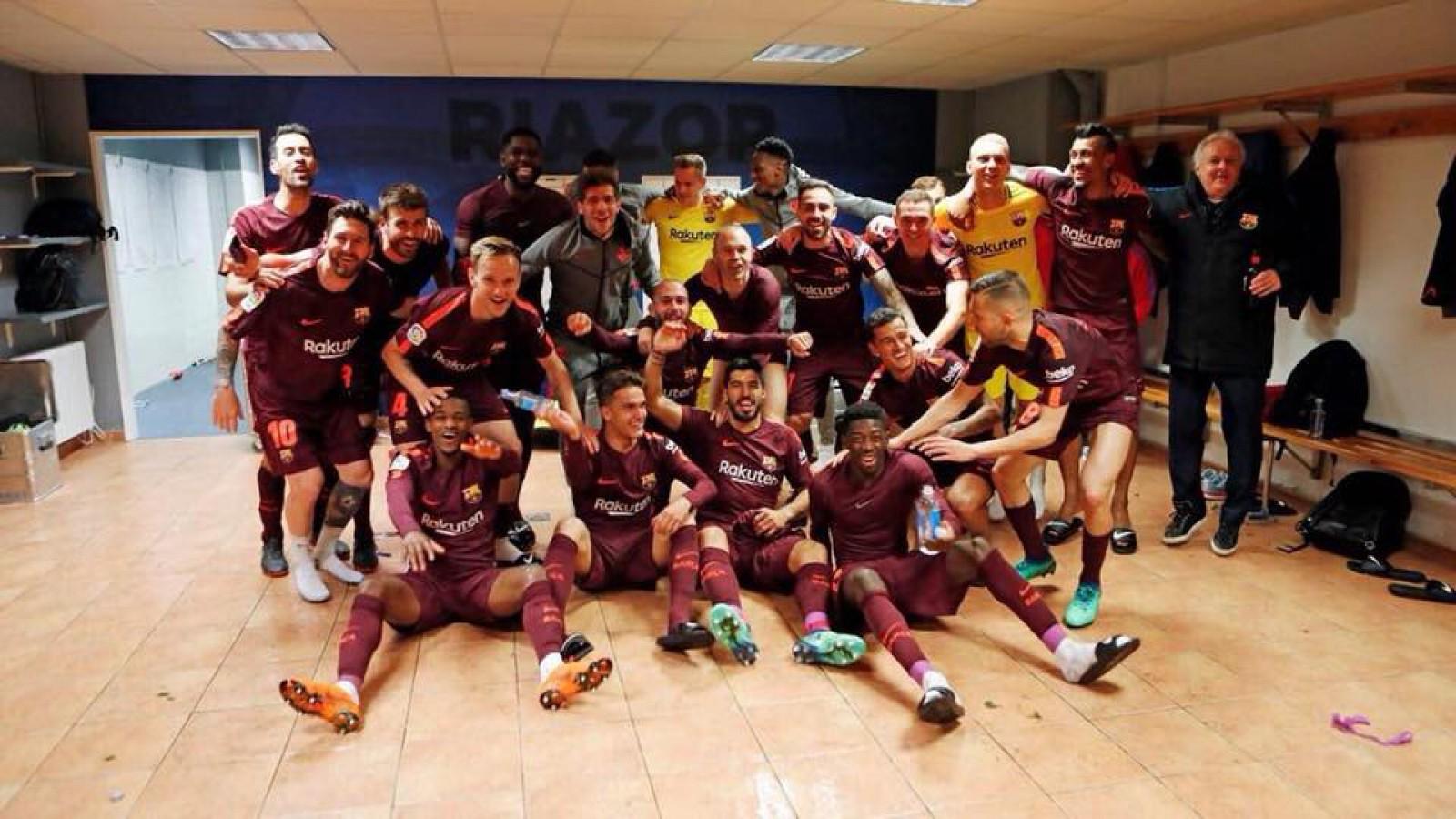(video) Barcelona este noua campioană a Spaniei! Catalanii au cucerit al 25-lea titlu din La Liga
