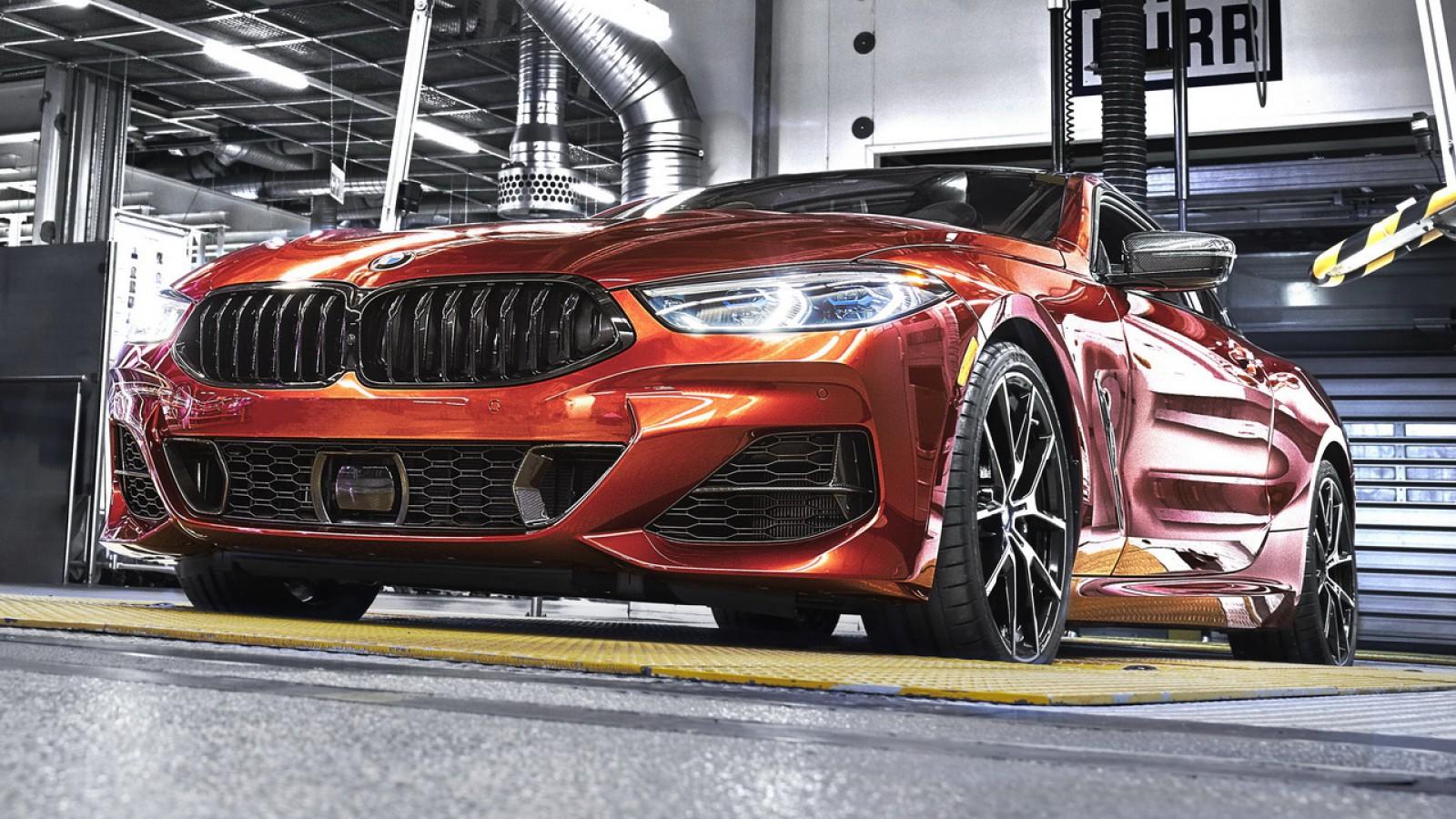 (video) BMW a început producţia noului Seria 8 Coupe la uzina din Dingolfing. Iată cum este făcut