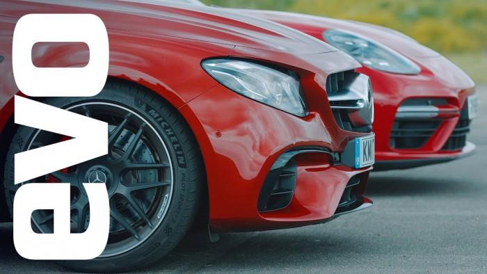 (video) Care e mai iute pe o distanţă de 402 metri: un Porsche Panamera Turbo sau un Mercedes-AMG E 63 S