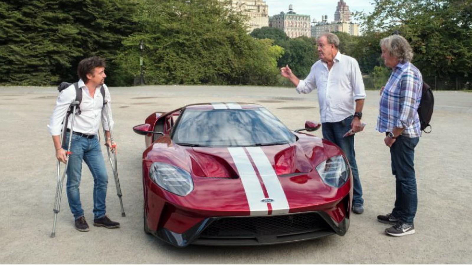 Aventura De Care Spuneam Costa Intr O Cursa In Care Jeremy Clarkson Participa Cu Un Supercar Ford Gt Impotriva Lui Richard Hammond Si James May Care