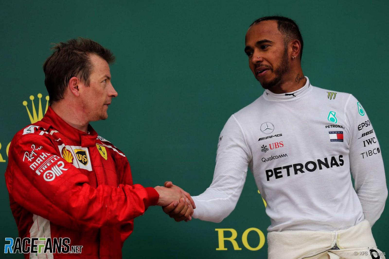 (video) Critici la adresa Scuderiei Ferrari şi reacţia lui Jeremy Clarkson după ce Raikkonen l-a lovit pe Hamilton. Piloţii s-au împăcat ulterior